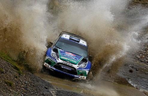 WRC. Ралли Уэльса. Латвала отрывается от преследователей