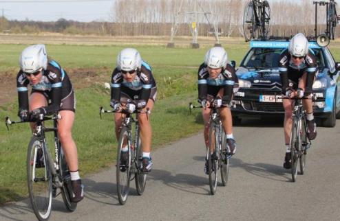 Велоспорт. Старт-лист женской командной разделки