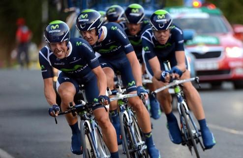 Велоспорт. Старт-лист мужской командной разделки