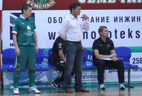 """Футзал. Бето: """"Тактически мне Локомотив очень понравился"""""""
