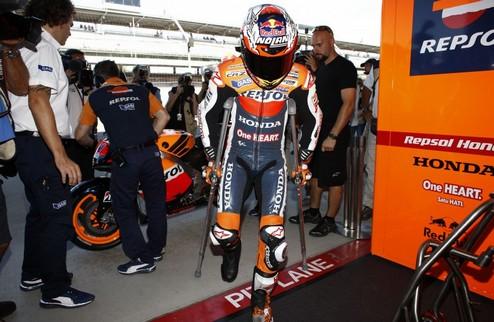 MotoGP. Кейси Стоунер планирует вернуться в середине октября