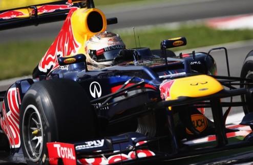Формула-1. Гран-при Сингапура. Феттель выигрывает первую практику