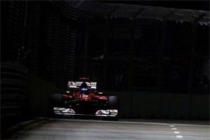 Формула-1. Алонсо: в Сингапуре мы не так быстры, как в Монце