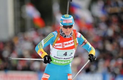 Биатлон. Вита Семеренко завоевала серебро в Уфе
