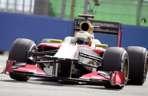 Формула-1. Де Ла Роса: минус пять позиций на старте Гран-при Сингапура