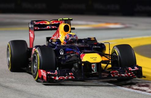 Формула-1. Уэббер наказан, Перес — в десятке