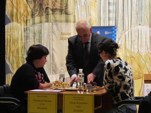 Шахматы. Результаты второго тура женского чемпионата Украины