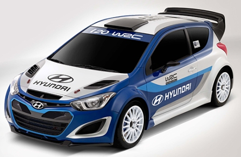 WRC. Хюндай представил автомобиль для возвращения в чемпионат мира