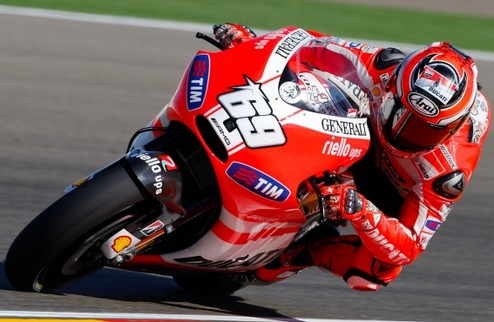 MotoGP. Гран-при Арагона. Хэйден выигрывает первую практику