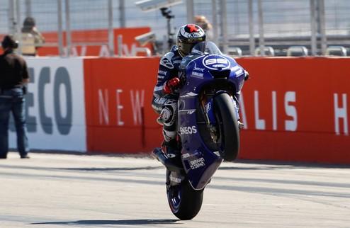 """MotoGP. Лоренсо: """"Догнать Педросу было невозможно"""""""