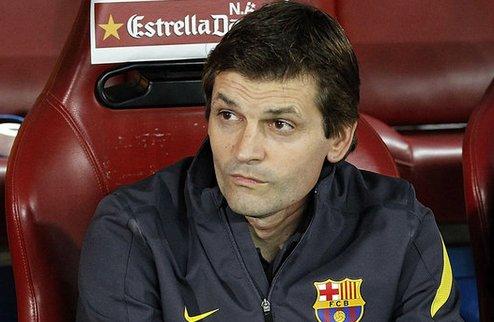 """Виланова: """"Барселоне становится все тяжелее"""""""
