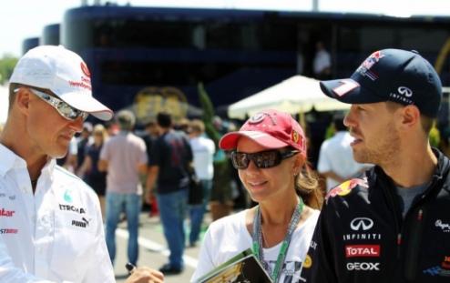 Формула-1. Феттель верит в Шумахера