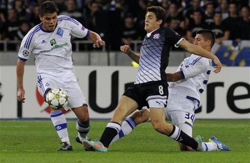 Динамо уверенно побеждает одноклубников из Загреба