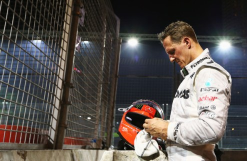 Формула-1. Шумахер решил завершить карьеру пилота в конце сезона
