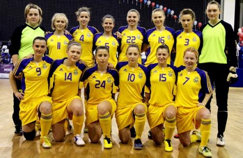 Футзал. Женская сборная Украины сыграет на чемпионате мира