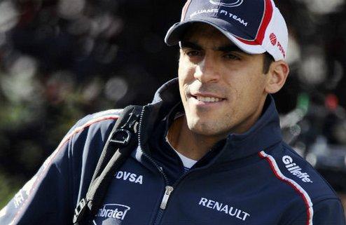 """Формула-1. Мальдонадо: """"Хочу остаться в Уильямс"""""""