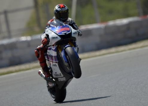 MotoGP. Гран-при Японии. Лоренсо выигрывает первую практику