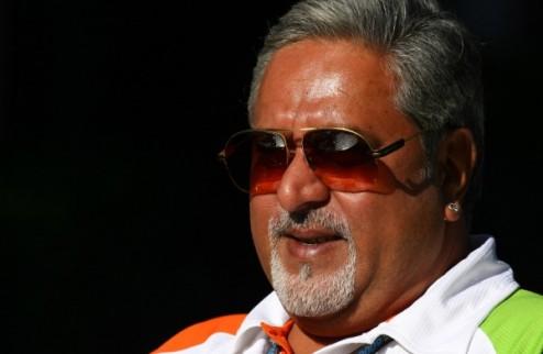 Формула-1. Власти Индии выдали ордер на арест Виджея Мальи