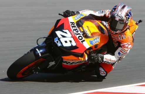 """MotoGP. Гран-при Японии. """"Волевая"""" победа Педросы"""