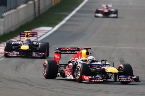 Формула-1. Гран-при Кореи. Победа Феттеля, подиум Алонсо