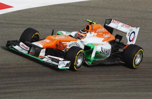 Формула-1. Хюлькенберг доволен своим выступлением в Корее