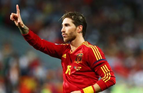 Рамос пропустил тренировку сборной Испании