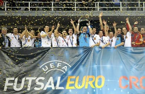 Футзал. Определены даты проведения игр отбора на Евро-2014