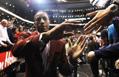 НБА. ДеРозан и Торонто не могут договориться о новом контракте