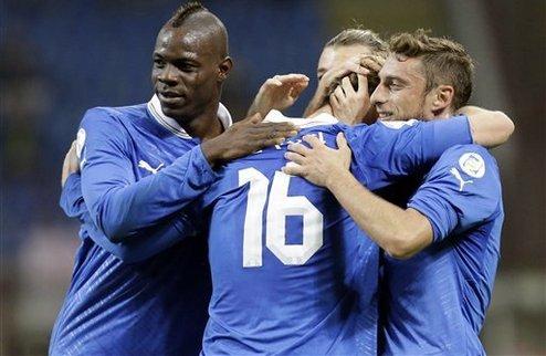Италия обыграла Данию