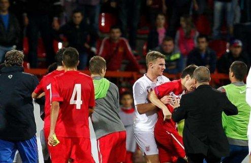ФА подала жалобу в УЕФА