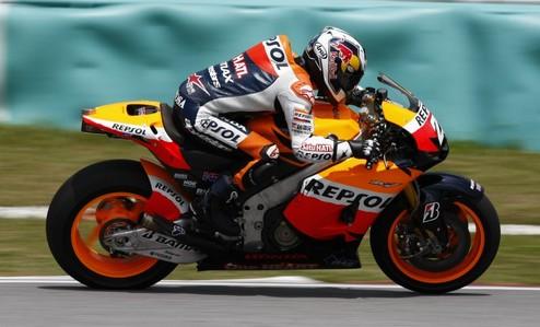 MotoGP. Гран-при Малайзии. Педроса выигрывает первую практику