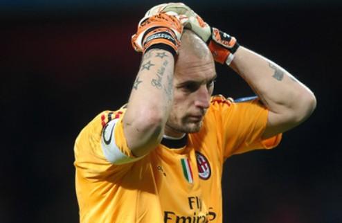 Милан сыграет с Лацио без Аббьяти, Робиньо и Амброзини