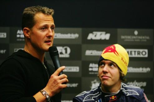 Формула-1. Шумахер: для Феттеля уход в Феррари был бы интересным вызовом