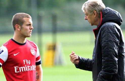 Уилшир включен в заявку Арсенала в матче с Норвичем