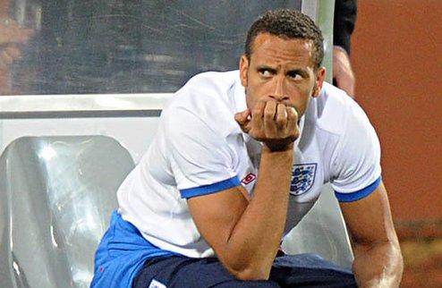 Фергюсон призывает Фердинанда уйти из сборной Англии