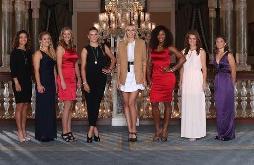 Итоговый турнир года WTA. Азаренко с Уильямс, Шарапова — с Радваньской