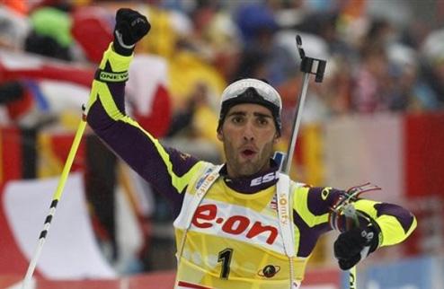 Биатлон. Фуркад и Доран-Абер выиграли гонку во Франции