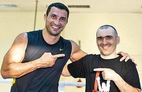 Украинский тренер помогает Кличко готовиться к Ваху