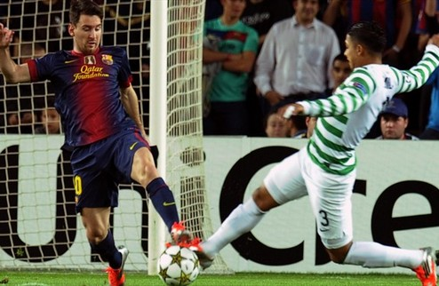 Барселона додавила Селтик, Cпартак обыграл Бенфику + ВИДЕО
