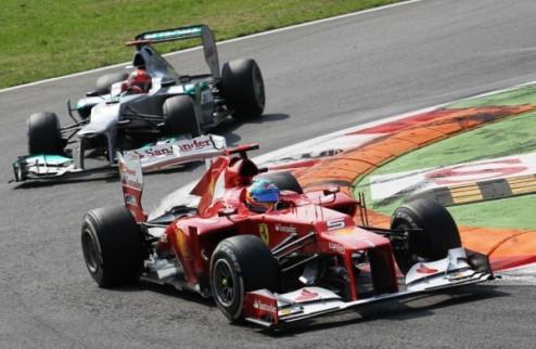 Формула-1. В Феррари готовы вернуть Алонсо на первое место в зачете