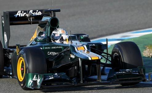 Формула-1. Катерхэм протестирует ван дер Гарде и А.Росси