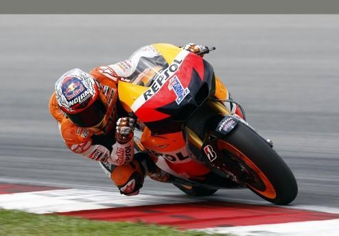 MotoGP. Гран-при Австралии. Стоунер — быстрейший в первой практике
