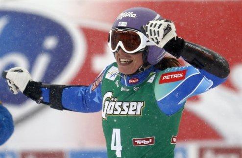 Горные лыжи. Мазе празднует успех в Зельдене