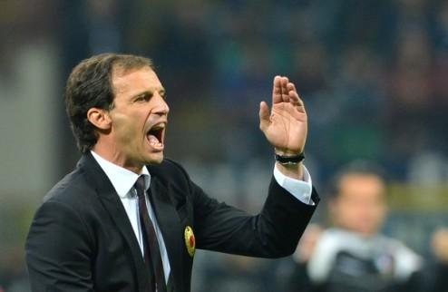 """Аллегри: """"Критика Милана была чересчур жесткой"""""""