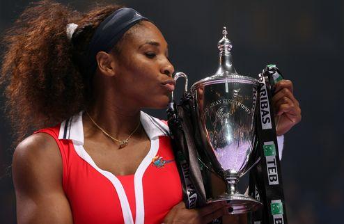 Серена Уильямс выигрывает Итоговый турнир года