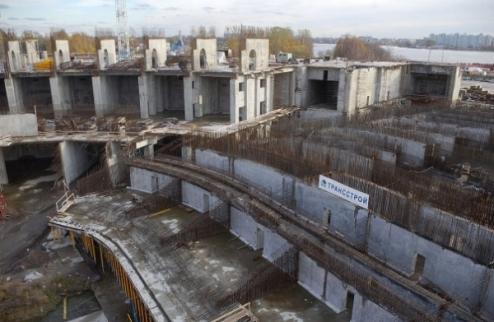 Сейчас стройка стадиона Зенита не ведется