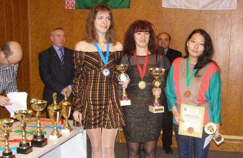 Шашки. Украинки берут золото и серебро чемпионата Европы