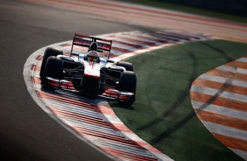 Формула-1. Гран-при Абу-Даби. Хэмилтон выигрывает первую практику