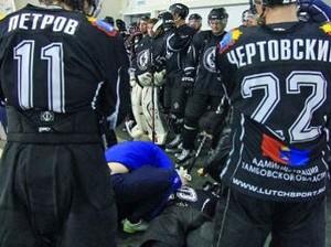 ФХР рассмотрит инцидент с избиением хоккеиста в Тамбове