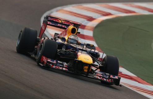 Формула-1. Гран-при Абу-Даби. Феттель выигрывает вторую практику